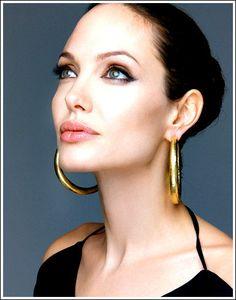 #Jolie, #makeup, #famous, #actress, #Lips,