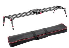 Neewer Carbon Fiber Camera Track Dolly Slider Rail System with Load Capacity for Stabilizing Movie Film Video Making Photography DSLR Camera Nikon Canon Pentax Sony -- You can get additional details at the image link. Best Dslr, Best Camera, Camera Nikon, Camera Gear, Camera Bags, Photo Accessories, Camera Accessories, Dslr Slider, Best Slider