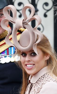 The infamous hat worn by Princess Beatrice to the Royal Wedding of William & Kate. You may chuckle at the style, but this hat raised 130,000$ on ebay, which was then donated to UNICEF and Children in Crisis. Way to go Beatrice!