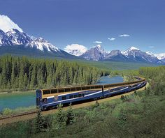 World's Greatest Dream Trips: Canada  VIA Rail and the Rocky Mountaineer  16 Day  4,000 mile journey across Canada.