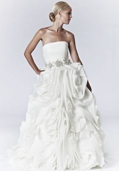 My dream gown.  Where I work we had it and it is divine! So rich and gorgeous!   Gorgeous Lis Simon Gown