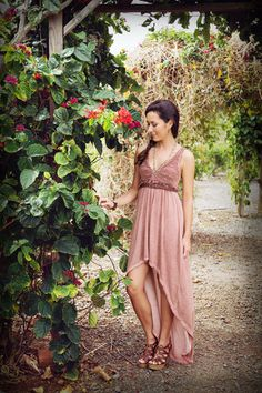 Show off your inner boho. Gypsy Rose Dress.
