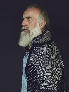 i have a similar sweater..... i love it and this old man.