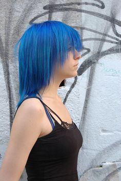 Blue. Love the cut expecially.
