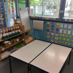Writing area Ks1 Classroom, Year 1 Classroom, Early Years Classroom, Classroom Ideas, Classroom Organisation, Classroom Management, Activity Centers, Literacy Centers, Teaching Schools