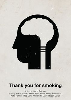 Thank you for smoking Picto