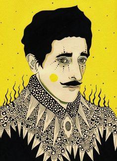Adrien Brody by Daria Hlazatova
