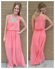 Easy, breezy and coral! $48