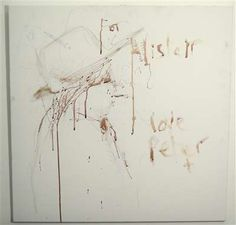 Pete Doherty Autographed Original Blood Painting