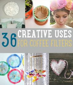 Uses for Coffee Filters   DIY Projects and Crafts by DIY Projects at https://diyprojects.com/uses-for-coffee-filters-diy-projects-and-ideas