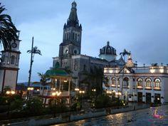 La lluvia es un visitante asiduo de Cuetzalan, en #Puebla.