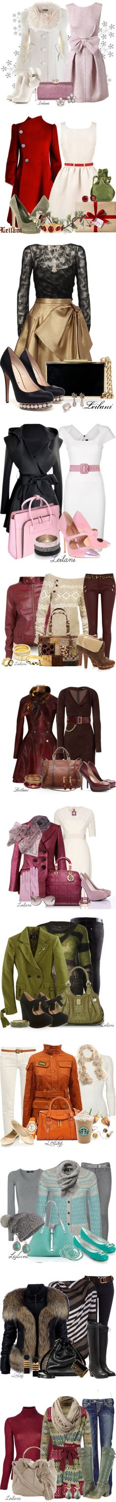 """""""Winter warm & Holiday collection"""" by leilani-almazan ❤ liked on Polyvore"""
