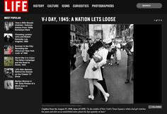Alfred Eisenstaedt's VJ Day in Times Square: The story behind one of the world's most famous images