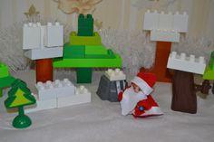 Веселые будни: Сказка: Как Зима людей с Морозом помирила - Лего-театр