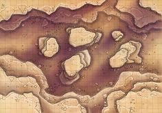 Desert Maps: Grid Canyon by Caeora Desert Map, Pathfinder Maps, Building Map, Rpg Map, Map Maker, Dungeon Maps, Star Wars Rpg, D&d Dungeons And Dragons, Fantasy Map