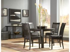 "Eclipse 42"" dining room set"