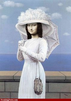 Mona par Magritte Fosterginger.Pinterest.ComMore Pins Like This One At FOSTERGINGER @ PINTEREST No Pin Limitsでこのようなピンがいっぱいになるピンの限界