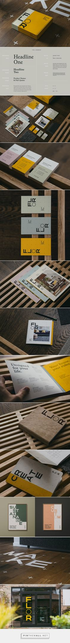 Brand New: New Logo and Identity for FLOR by Firebelly - created via https://pinthemall.net