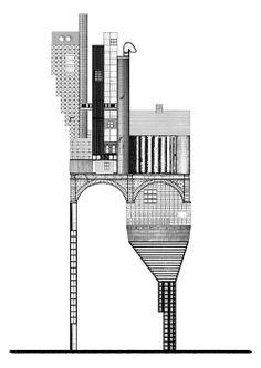 PROPOSAL FOR A SOCIAL CONDENSER 022  #architecture #drawing Pinned by www.modlar.com
