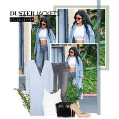 Duster Jacket: Kylie Jenner by beg1214 on Polyvore featuring Topshop, ASOS, J Brand, Gianvito Rossi and Givenchy