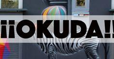 Un arte urbano sin miedo a las alturas basado en la explosión de colores (Okuda)