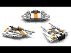 LEGO Star Wars T-47 Airspeeder/Snowspeeder Instructions