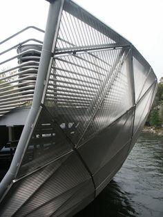 Aiola Island Bridge, Austria