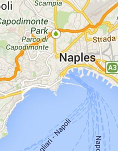 Map of Naples Tourist Attractions PlanetWare Southern Europe