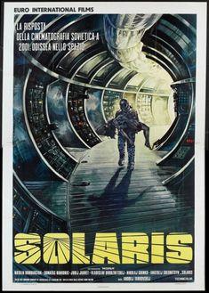 Solaris (1974) Italian poster