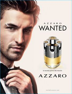 NIKOLAI DANIELSEN IS WANTED FOR AZZARO FRAGRANCE CAMPAIGN