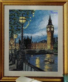 Beginning Cross Stitch Embroidery Tips - Embroidery Patterns Cross Stitch House, Just Cross Stitch, Cross Stitch Art, Counted Cross Stitch Patterns, Cross Stitch Designs, Cross Stitching, Cross Stitch Embroidery, Cross Stitch Landscape, Big Ben