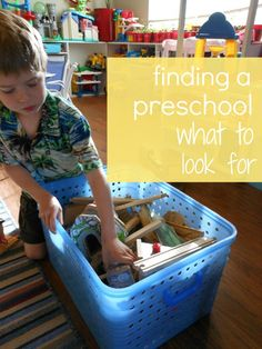 How to Choose a Preschool Series