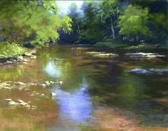 Reflections I by Jane McGraw-Teubner Pastel ~ 11 x 14