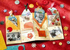 scrap Scrapbook Albums, Mini Albums, Paper, Cute, Creativity, Scrapbooks, Kawaii, Extended Play, Mini Scrapbooks