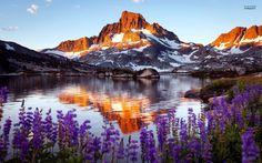 Thousand Island Lake, Sierra Nevada, California ~ requires hiking....