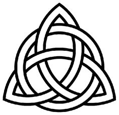 Have this tattoo on wrist it the Christian trinity