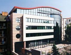 Transpetrol Headquarters, Marek Kolčák, Fedor Minárik and Ronie Vámoš Bratislava, Modern Architecture, Multi Story Building, Modernism, Contemporary Architecture