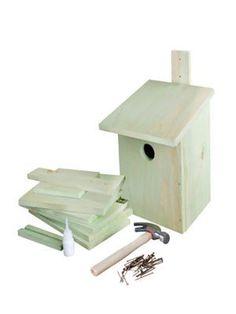 Doe het zelf vogelhuisje