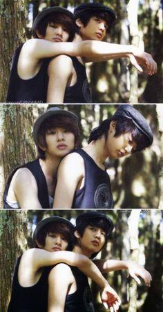 SHINee - Onew & Minho, wha- Minho, what are you doing? You belong to Taemin! :I