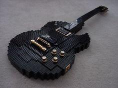 Amazing Lego guitar.