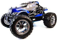 Bug Crusher Nitro Remote Control Monster Truck