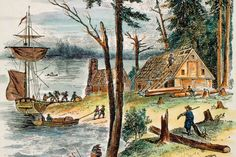 colonial life in early america - Google Search