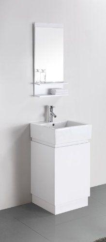 19 inch bathroom vanity with sink.  427 Virtu USA SS 82319 C WH 19 Inch Holly Single Sink Bathroom VanitiesSinksVanityPainted 20 Gulia Vanity Space Saving Cabinet inch wide vanity