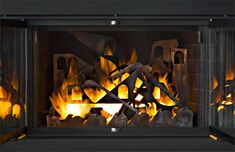 Venezia: Gas pipes run through the city layers, alighting the cityscape. The metal reflects heat into the room. Custom fireplace decor by sculptor Kevin Caron.  Read more: http://www.kevincaron.com/art_detail/venezia.html#ixzz3Rdv89Jfh