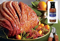Citrus and spice! Two Sisters Gourmet by #PartyLite Orange Spice Glaze - turn your favorite meat into a holiday meal. Use with pork, chicken, ham, fish or turkey.