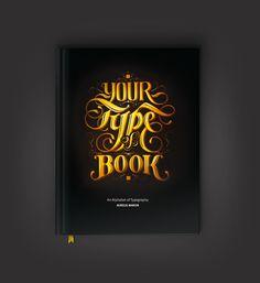 Your Type of Book by Aurelie Maron, via Behance