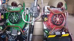 2016 Ghostbusters Reboot Proton Pack Replica Lights and Sounds Arduino