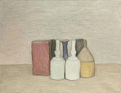 Giorgio Morandi (1890-1964) Natura morta, 1953.  41 x 53 cm.