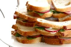 ... Pinterest | Radish salad, Pickled radishes and Cucumber tea sandwiches