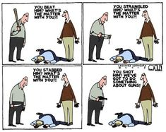 Funny pictures about Gun Control Criticism. Oh, and cool pics about Gun Control Criticism. Also, Gun Control Criticism. Political Satire, Political Cartoons, Political Equality, No Kidding, Liberal Logic, Gun Rights, Gun Control, Double Take, 2nd Amendment